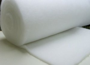 Manta acrílica (Perlon) para filtragem mecânica 1mt x 1,4mt