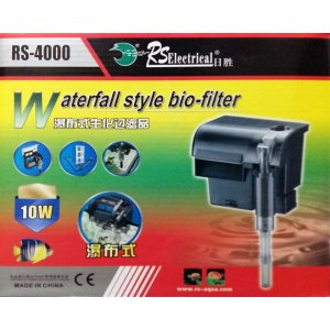 "Filtro externo ""Hang-On"" RS-Aqua RS-4000 - 1600 l/h - 220V"