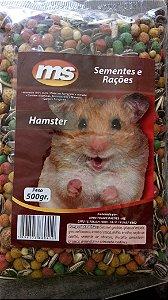 Grão natural para alimentação de Hamster - Mistura de sementes 500g