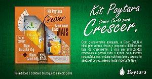Kit Poytara Comer certo para crescer Disco Dia a dia 75g + Catuli 50g