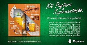 Kit Poytara Suplementação Disco Dia a Dia 75g + Supra 45g