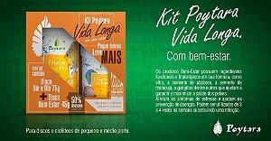 Kit Poytara Vida longa com Bem estar Disco Dia a Dia 75g + Bem estar 45g