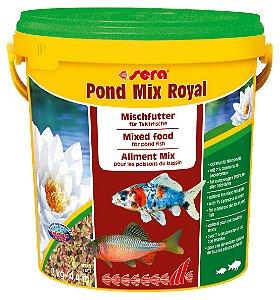 Alimento completo misto para peixes variados de lagos ornamentais Sera Pond Mix Royal 2kg