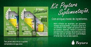Kit Poytara Suplementação Tropicais Dia a Dia 95g + Spirulina 40g