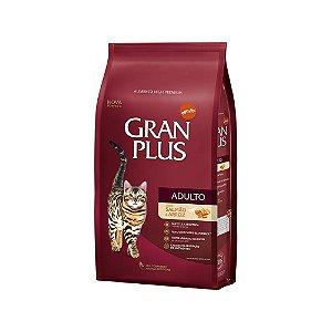 Ração para gatos Castrados Gran Plus Salmão - pacote de 1kg