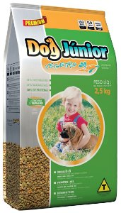 Alimento Premium para cães filhotes Dog Junior sabor vegetais 1kg