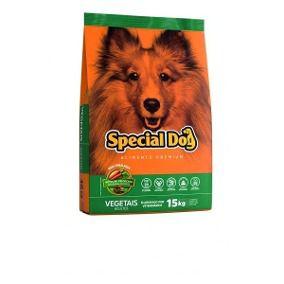 Alimento Premium para cães Adultos Special Dog sabor vegetais 10,1kg