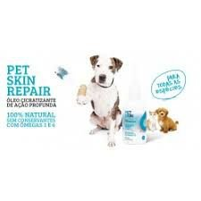 Óleo cicatrizante de ação profunda Pet Skin Repais 60ml - The French CO