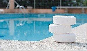 Cloro para piscina em pastilhas ATL - 5 pastilhas de 200g - 1kg