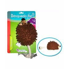 Brinquedo para cães Batiki pelúcia Ouriço com apito