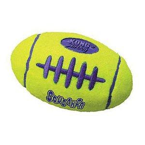 Brinquedo para cães Kong Squeaker Bola de futebol Americano Pequena (ASFB3)