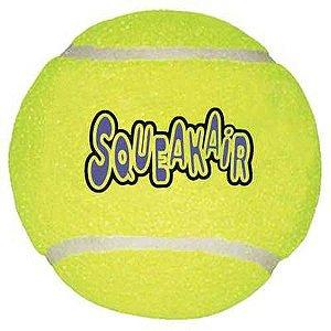 Brinquedo para cães Kong Bola de Tênis Squeakair Bulk Grande (AST1B)