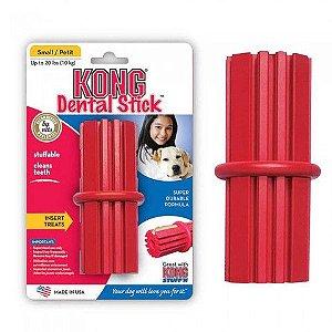 Brinquedo Kong Dental Stick Vermelho Pequeno