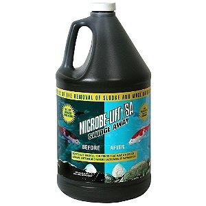 Removedor de fezes e lodo orgânicos Microbe-Lift Sludge Away - 3,785 litros