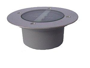 Spot solar de piso com 3 LED's de alto brilho para DECK