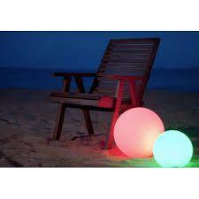 Luminaria decorativa Multicolorida em LED com controle Remoto cone 15cm x 35cm