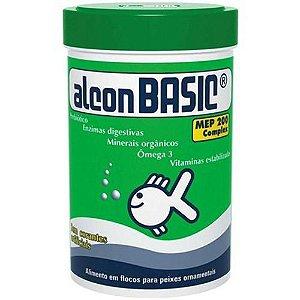 Ração Alcon Basic Flocos 150g