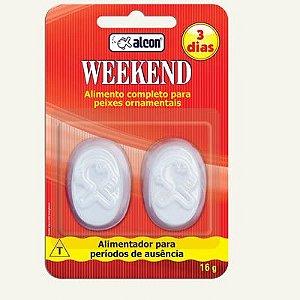 Ração para final de semana Alcon Weekend 3 dias 16g (2 barras)