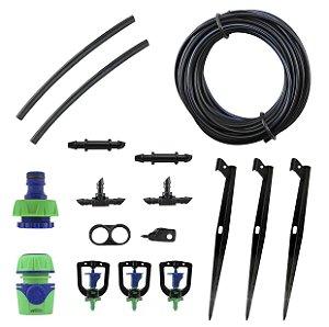 Kit Amanco de irrigação por micro-aspersão por estacas