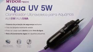 Clarificador Ultravioleta para aquários de 5W Mydor Tech Aqua UV 5w 220V
