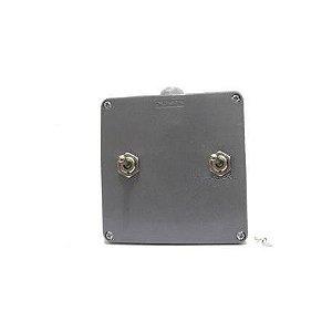 Caixa de ligação para dois equipamentos