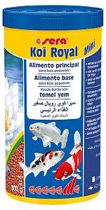 Ração Sera Koi Royal Mini 300g - 1 litro