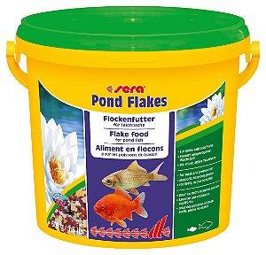 Ração em flocos para peixes de lagos Sera Pond Flakes 600g