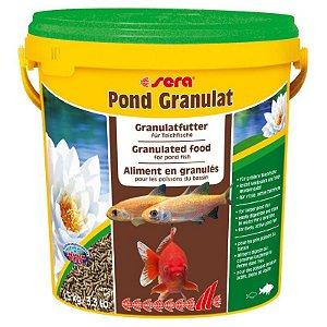 Ração para peixes adultos de água fria Sera Pond Granulat 1,5kg - 10 litros