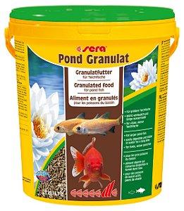 Ração para peixes adultos de água fria Sera Pond Granulat 2,8kg - 21 litros