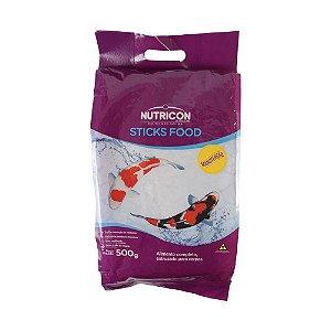 Alimento completo para carpas NutriconPet Sticks Food Manutenção 1,5kg
