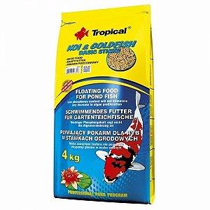 Alimento básico para carpas Tropical Koi&Goldfish basic Sticks 4,0kg