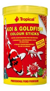 Ração Koi & Goldfish Colours Sticks 4,0kg - Tropical