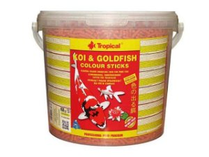 Ração Koi & Goldfish Colours Sticks 1,5kg - Tropical
