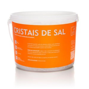 Cristais de sal para tratamento de peixes ornamentais - Cubos 2,5kg
