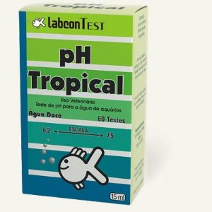 Teste de pH Labcon Tropical 15ml - 50 testes