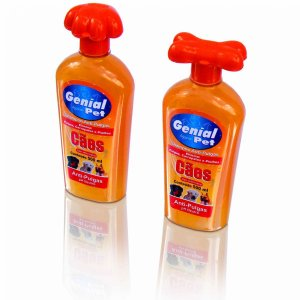 Shampoo para Cães de pH Neutro com Anti-pulgas e carrapatos - 500ml - Genial Pet