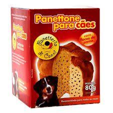 Panetone para Cães com flocos de carne Panetteria Di Canni - 80g