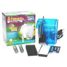 Filtro externo (Hang-on) para aquários Atman HF-0100 160l/h - 220V