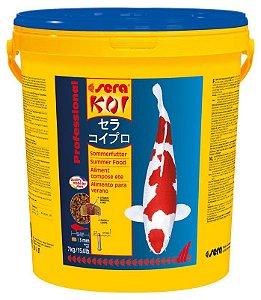 Ração Sera Koi Professional Alimento de verão 7kg