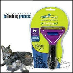Escova tira pelos Furminator S Gatos pequenos pelos curtos