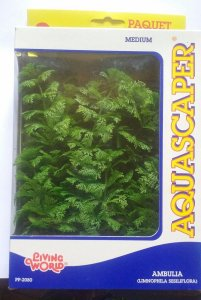 Planta para decoração de aquários Ambulia Com 3 Unidades PP-2080