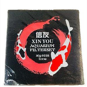 Espuma de filtragem mecânica 45cm x 45cm - Xin You - XY-1038