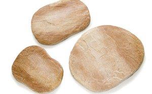 Pedra artificial pisada - Tamanhos