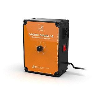 """Ozônio Enamel 1G com venturi 1"""" Cubos 220v"""