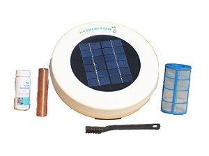 Ionizador solar para piscinas de até 30 mil litros EcoSolSystem
