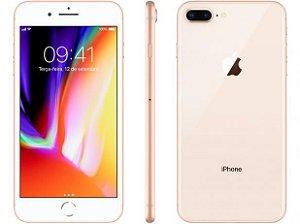 """iPhone 8 Plus Apple 64GB Dourado 4G Tela 5,5"""" - Retina Câmera 12MP iOS 11 Proc. Chip A11"""
