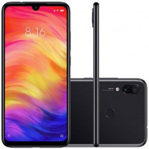Celular, Xiaomi, Redmi Note 7, 4GB RAM, 64GB Versão Global, Preto