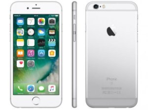 "iPhone 6s 32GB PrataTela Retina HD 4,7"" 3D Touch Câmera 12MP - Apple"
