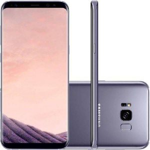 "Samsung Galaxy S8 Dual Chip Android 7.0 Tela 5.8"" Octa-Core-Ametista"