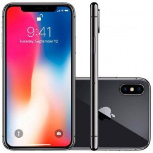 iPhone X 64GB IOS12 4G + Wi-fi Câmera 12MP Apple-Preto